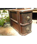 Antique Treadle Sewing Machine Wooden 2 Drawer ... - $99.97