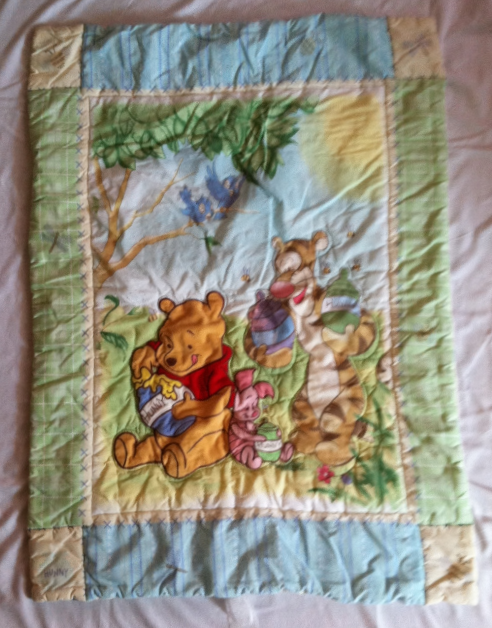classic winnie the pooh baby crib comforter with tigger
