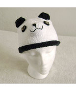 Panda Bear Hat for Children - Animal Hats - Medium - $16.00