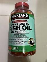 Kirkland Signature Wild Alaskan Fish Oil 1400 mg., 230 Softgels - $37.99