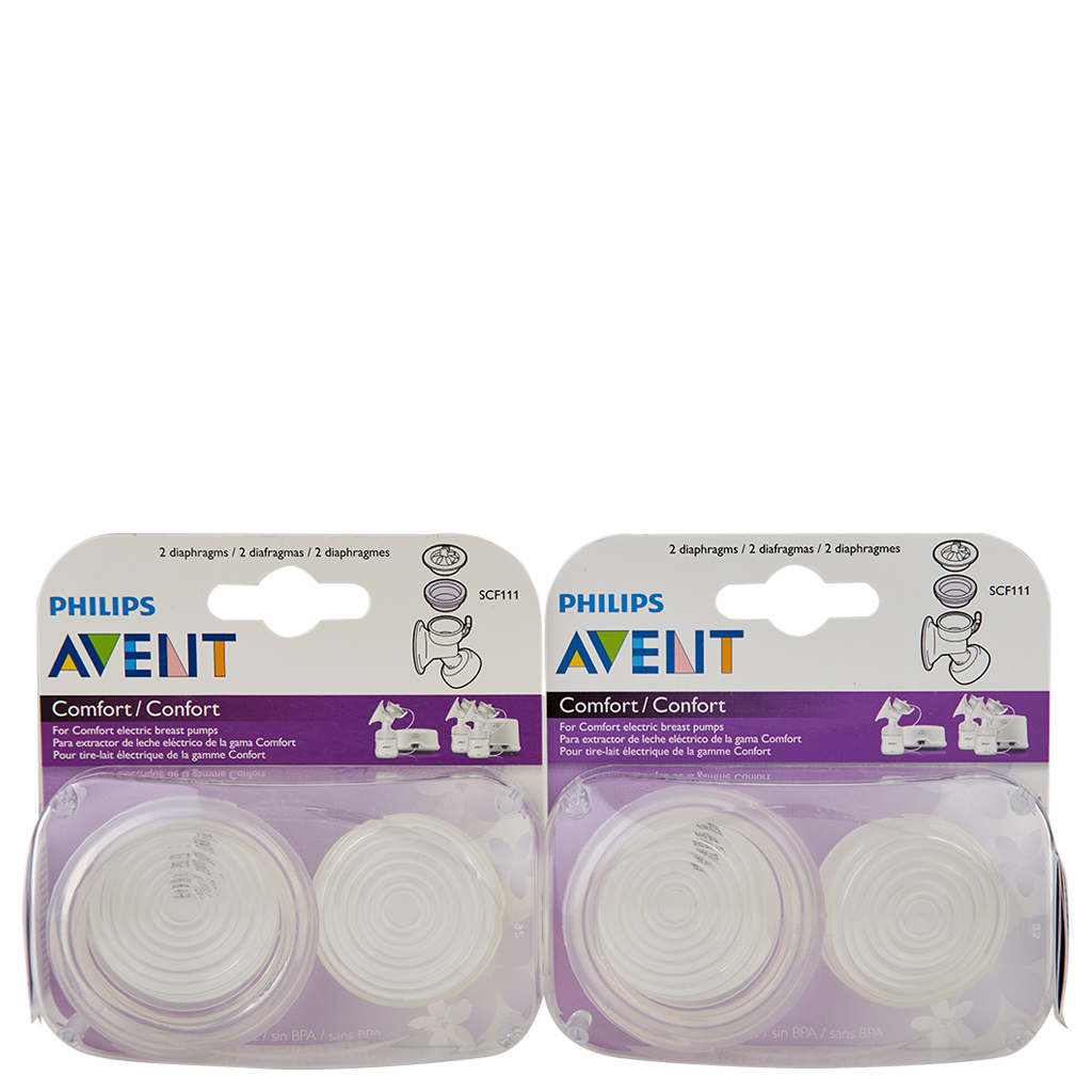 Primary image for Philips Avent Comfort Breast Pump Electric Diaphragm 2 ct