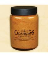 Hot Apple Pie 26 oz. Crossroads Original Designs Jar Candle w/ Lid 2-Wic... - $19.79