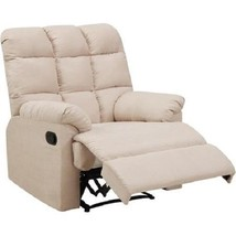 Microfiber Recliner Chair Overstuffed Lounger TV Room Home Theater Seati... - $315.99