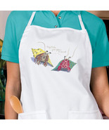 Your Place Or Mine Hermit Crabs New Apron, Cook, Bar, Parties, Events, B... - $19.99