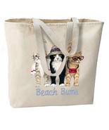 Beach Bums Cats Oversize Tote Bag, Shopping, Ov... - $18.99