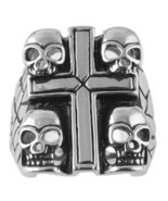 Outlaw Motorcycle Biker Rings Stainless Steel Lot Of 6 !   Size, Style C... - $85.00