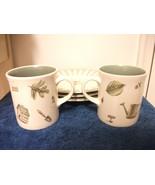 NICE PFALTZGRAFF NATUREWOOD DESIGN 2 MUGS 3 PLATES TEA COOKIES - $18.68