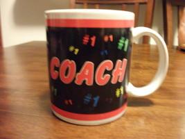 #1 COACH CERAMIC COFFEE MUG NICE - $4.99