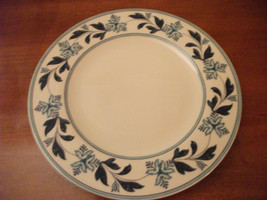 Johnson Brothers Farmhouse Kitchen Blue Fern China Dinner Plate England New - $18.68