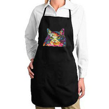 Artsy Neon Cat New Apron Gift Cook Events Gifts Kitty Lovers - $19.99