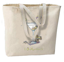 I Olive Martinis New Oversize Tote Bag, Fun For Travel, Shop, Gifts, Bar - $18.99