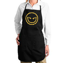 Wicked Smiley Face New Apron Unisex Cook Bake Parties Events Gifts - $19.99