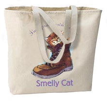 Proud Owner Of A Smelly Cat New Oversize Tote Bag, All Purpose - $18.99