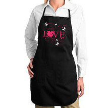 Love And Butterflies New Apron, Parties, Events, Bar, Club, Cook, Bake, Gifts - $19.99