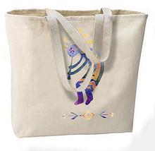 Native American Kokopelli New Large Canvas Tote Bag, Travel, Gifts, Spirit of Mu - $18.99