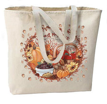 Fall Autumn Happiness New Oversize Tote Bag, All Purpose - $18.99