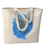 Glittery Butterfly Fairy New Large Canvas Tote Bag Travel Gifts Events - $18.99