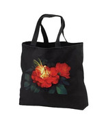 Nightlight Fairy New Black Cotton Tote Bag, Cool Unique Design - $17.99