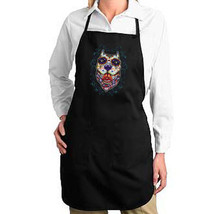 Sugar Skull Pit Bull Dog New Apron Events Cook Bar Day of the Dead - $19.99