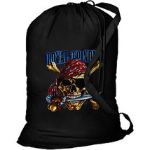 Loyal To None Pirate New Cotton Laundry Bag, Camping, Duffle, Travel, Tote - $19.99
