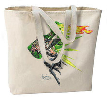 Absinthe Green Fairy New Large Tote Bag, All Purpose, Shopping, Travel - $18.99