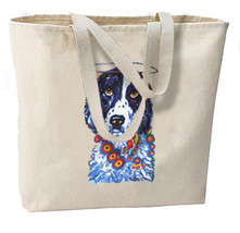 The Saint Spaniel Dog New Oversize Tote Bag, Cool Artsy Design - $18.99