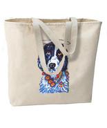 The Saint Spaniel Dog New Oversize Tote Bag, Cool Artsy Design - $18.99
