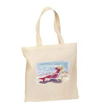Lady Sun Fish New Lightweight Tote Bag Shop Gifts Beach - $12.99