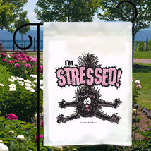I'm Stressed Cat Small Garden Flag, Fun For Home, Business - $12.99