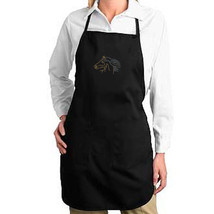 Rhinestud Horse Face Mane New Apron Cook Bake Parties Events Gifts - $19.99