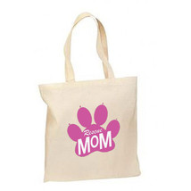 Rescue Mom New Lightweight Cotton Tote Bag Gifts Dog Cat Adoptions - $12.99
