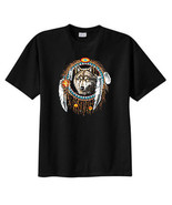 Native American Dreamcatcher Wolf T Shirt, S M L XL 2X 3X 4X 5X - $19.99