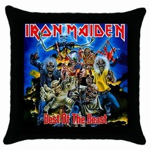 Iron Maiden Cushion Cover Throw Pillow Case Cover-NEW - $15.00