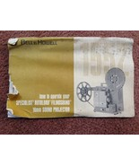Bell and Howell 16MM Sound projector 1552 Owner's Manual - $20.29