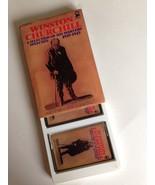 Winston CHURCHILL: Wartime Speeches ARGO 2-Cassette Set WWII History - $9.79