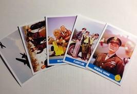 12 O'CLOCK HIGH 1964-67 TV Series2~FIVE Card Promo Set~Robert Lansing/Pa... - $12.76