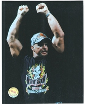 Steve Austin RR RH RR Vintage 8X10 Color Wrestling Memorabilia Photo - $4.99