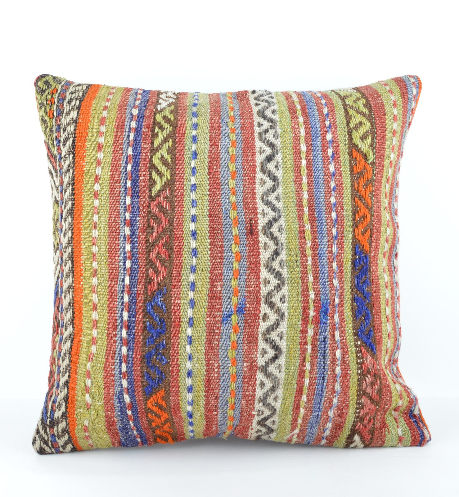 Large Decorative Pillows Floor : embroidered pillow 20x20 decorative pillow bed large floor pillow couch cushion - Pillows