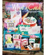 WHAT A CARD! PAPER CRAFTING BOOK #2034 Canson P... - $3.00