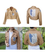 Attack On Titan Shingeki No Kyojin Scouting Legion Cosplay Jacket Coat Costume - £10.66 GBP