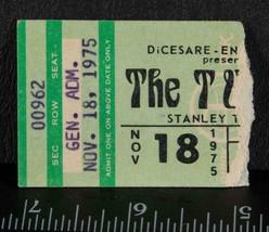 Vintage The Tubes Ticket Stub November 18 1975 Stanley Theater tob - $34.64