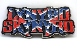 LYNYRD SKYNYRD LOGO BELT BUCKLE ass kicking southern rock classic rock - $14.84