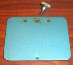 Morse Super Photomatic Rear Arm Inspection Plate w/Screw - $10.00