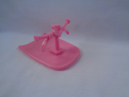 2007 Mattel Polly Pocket Replacement Pink Sled / Ski - $1.34