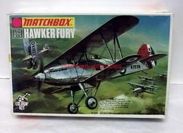 Matchbox~PK-1~1:72~Hawker Fury~RAF/Royal Yugoslavia Air Force~Model Kit - $14.00