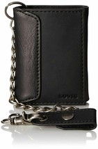 Levi's Men's Rfid Blocking Credit Card ID Chain Trifold Wallet image 2