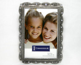 Pewter Photo Frame with Bling 4x6 - $7.95