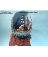 Decorated Egg Emu Egg Cape Lookout Lighthouse C... - $125.00