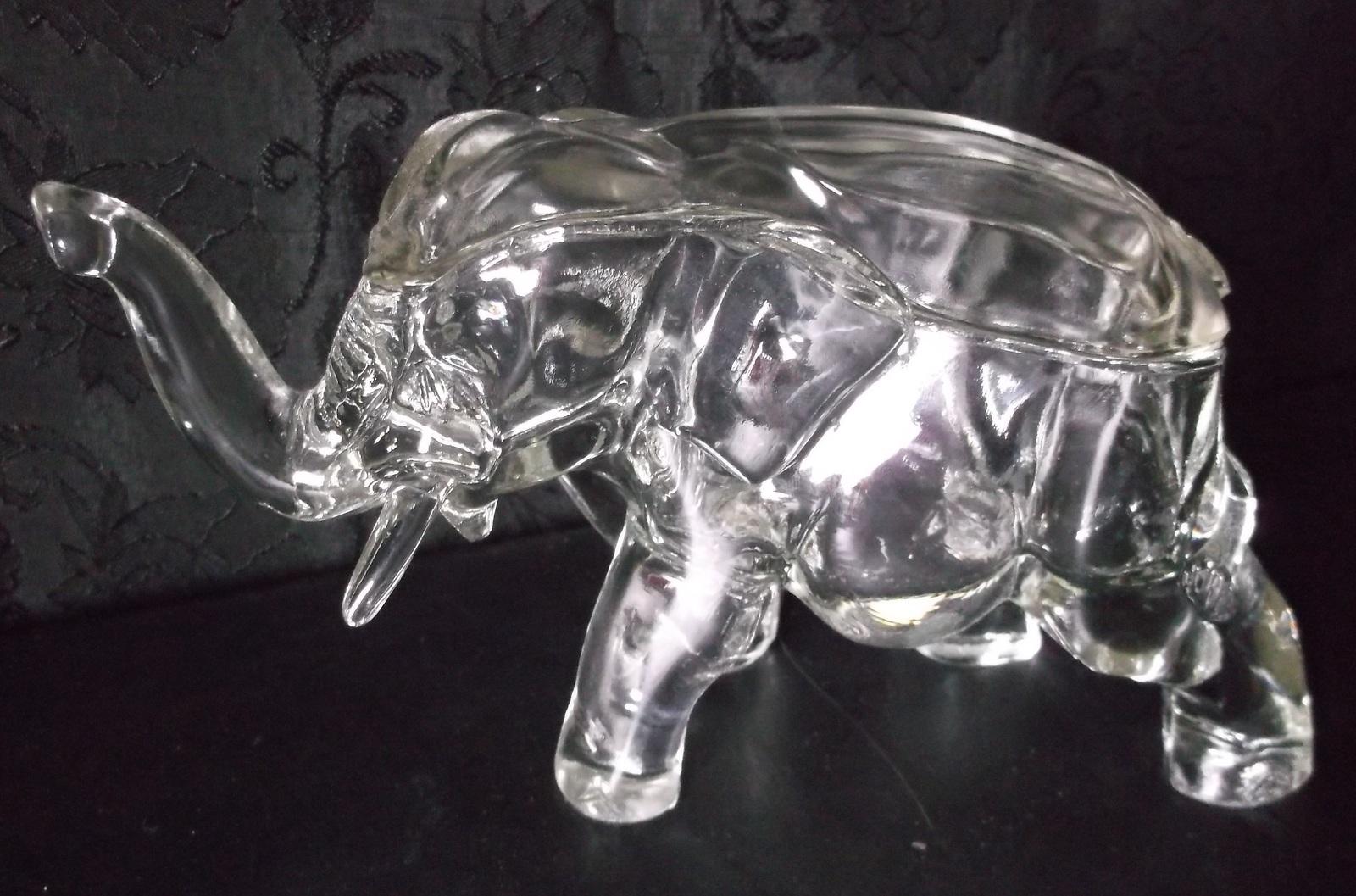 Top Vintage Co-Operative Flint Glass Elephant and 50 similar items YC79