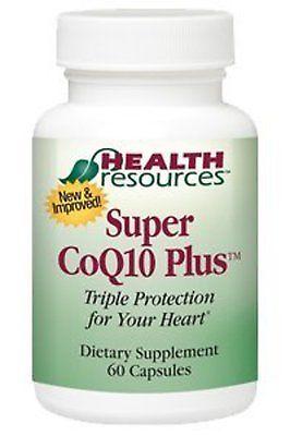 Super CoQ10 Plus (60 capsules) by Health Resources